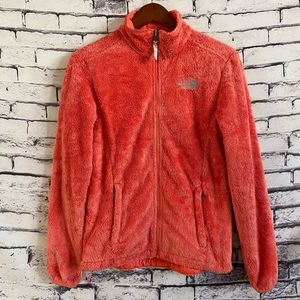 The North Face Women's Osito-2 Fleece Jacket, Coral Size Small